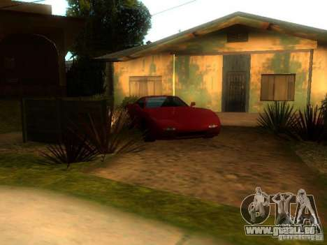 New Car in Grove Street für GTA San Andreas zweiten Screenshot
