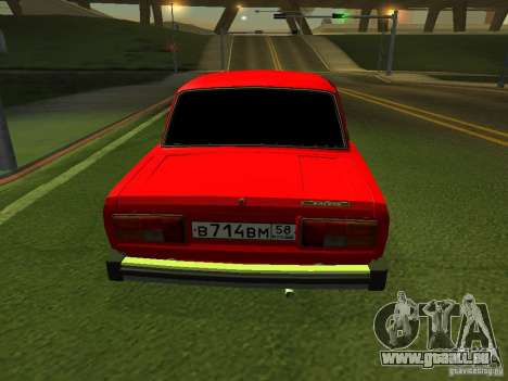 VAZ 2105 für GTA San Andreas rechten Ansicht