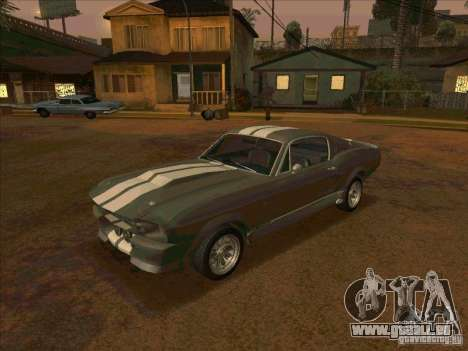 Ford Shelby GT500 Eleanor pour GTA San Andreas