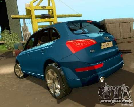 Audi Q5 pour GTA San Andreas vue de dessus
