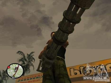 M134 Minigun aus CoD: Mw2 für GTA San Andreas siebten Screenshot