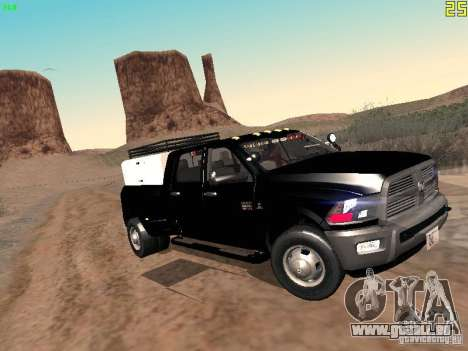 Dodge Ram 3500 Unmarked pour GTA San Andreas