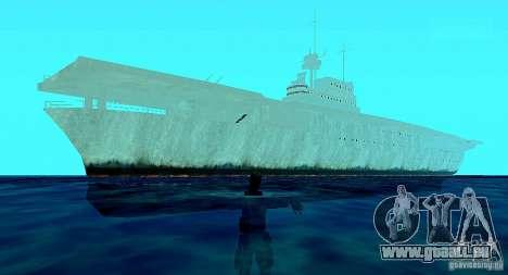 Battle Ship pour GTA San Andreas troisième écran