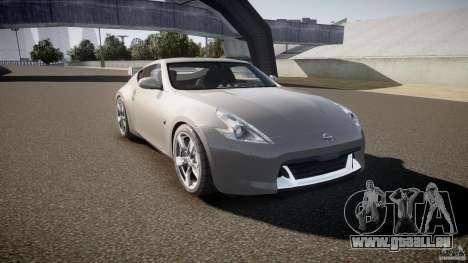 Nissan 370Z pour GTA 4 Vue arrière