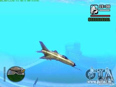 MIG 21 neu für GTA San Andreas