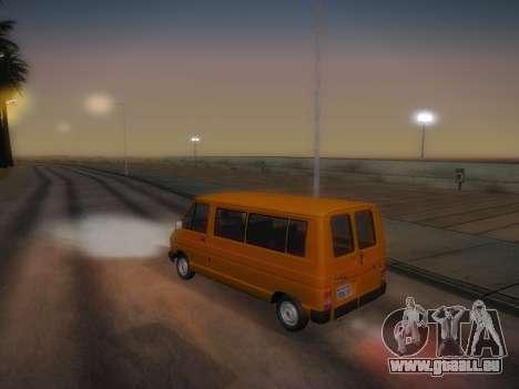 Renault Trafic T1000D Minibus für GTA San Andreas Seitenansicht