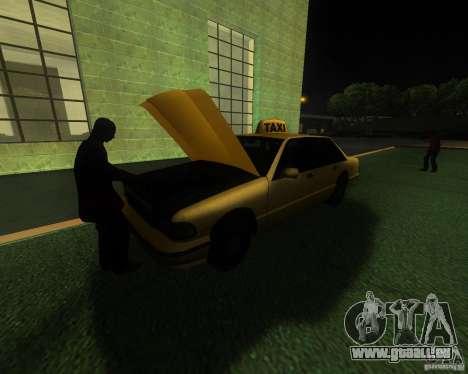 Une gare animée à San Fierro pour GTA San Andreas troisième écran