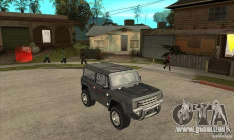 Ford Bronco Concept für GTA San Andreas Rückansicht