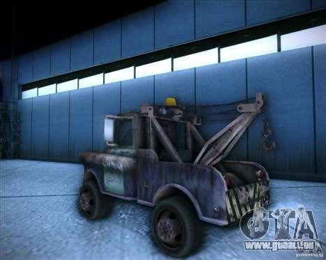 Car Mater für GTA San Andreas linke Ansicht