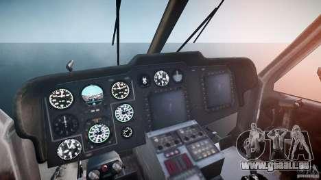 KA-60 Kasatka v1.0 für GTA 4 Rückansicht