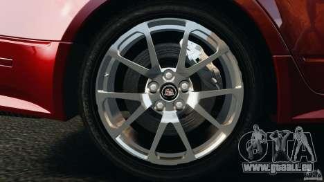 Cadillac CTS-V 2009 für GTA 4 Seitenansicht
