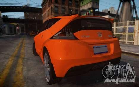 Honda Civic CR-Z für GTA 4 linke Ansicht