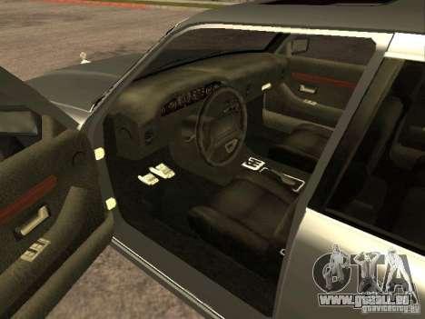HD Sentinel pour GTA San Andreas sur la vue arrière gauche