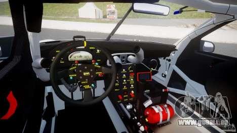 Porsche GT3 RSR 2008 SpeedHunters pour GTA 4 est une vue de dessous