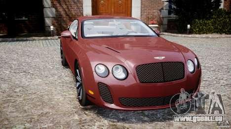 Bentley Continental SS v2.1 pour GTA 4