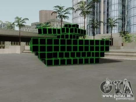 Pixel Tank pour GTA San Andreas