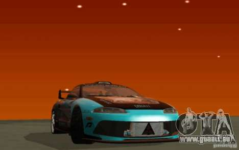 Mitsubishi Eclipse Elite für GTA San Andreas linke Ansicht