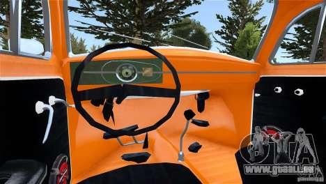 Baja Volkswagen Beetle V8 pour GTA 4 Vue arrière de la gauche