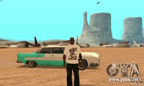 WWE CM Punk T-shirt für GTA San Andreas