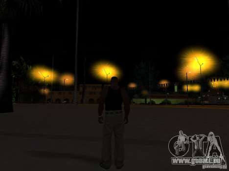 Realistic Night Mod pour GTA San Andreas