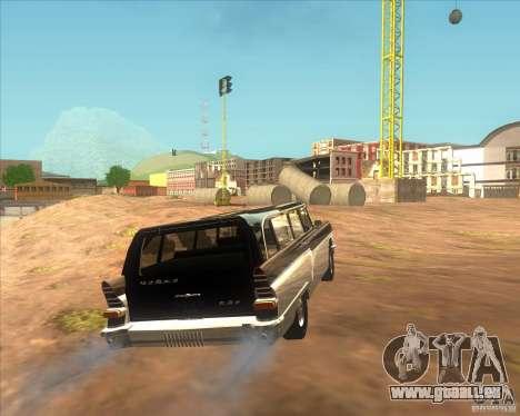 RAPH gaz 13 c pour GTA San Andreas sur la vue arrière gauche