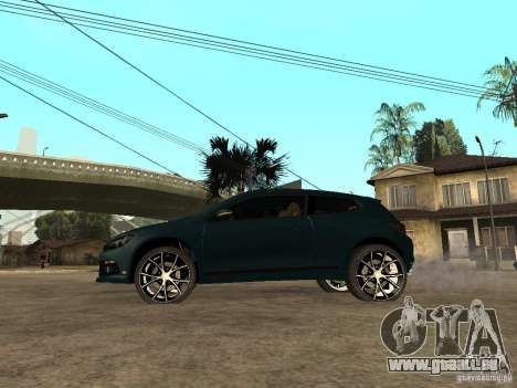 Volkswagen Scirocco 2010 pour GTA San Andreas laissé vue