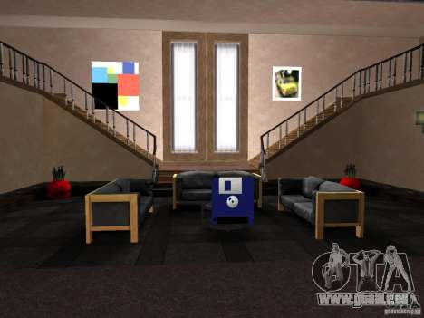 Geheime Wohnung für GTA San Andreas dritten Screenshot