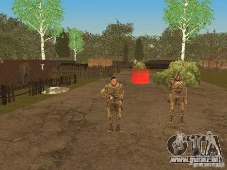 Degtyarev de Stalker pour GTA San Andreas septième écran