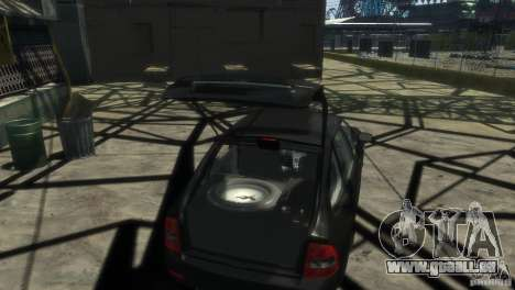 LADA Priora 2172 Suite pour GTA 4 Vue arrière