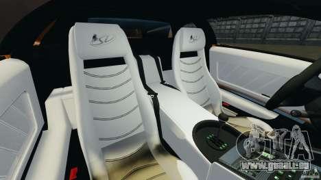 Lamborghini Diablo SV 1997 v4.0 [EPM] pour GTA 4 est une vue de l'intérieur