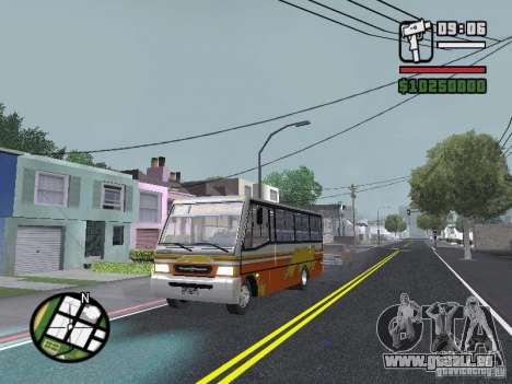 Ciferal Agilis M.Benz LO-814 BY GTABUSCL für GTA San Andreas obere Ansicht