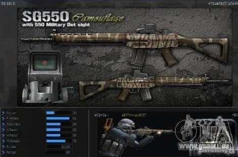 [Point Blank] SG550 Kamo pour GTA San Andreas