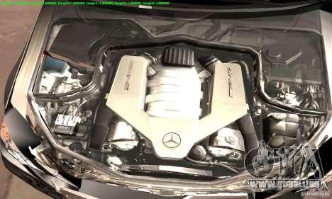 Mercedes-Benz E63 AMG 2010 für GTA San Andreas obere Ansicht