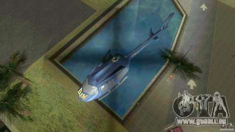 Sky Cat pour une vue GTA Vice City de la droite