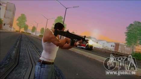 SCAR - H pour GTA San Andreas deuxième écran