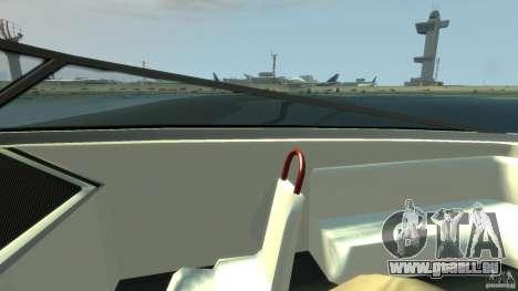 Tuned Jetmax für GTA 4 Rückansicht
