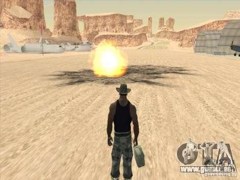 Beaux nuages et plus pour GTA San Andreas cinquième écran