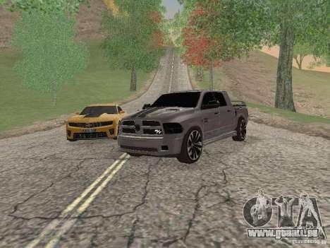 Dodge Ram R/T 2011 pour GTA San Andreas