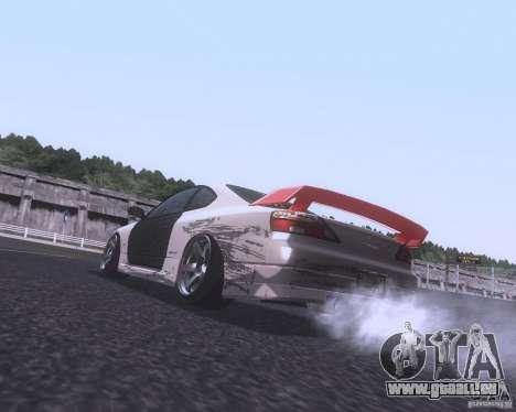 Nissan Silvia S15 Street pour GTA San Andreas sur la vue arrière gauche