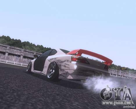 Nissan Silvia S15 Street für GTA San Andreas zurück linke Ansicht