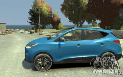 Hyundai IX35 2010 Beta für GTA 4 linke Ansicht