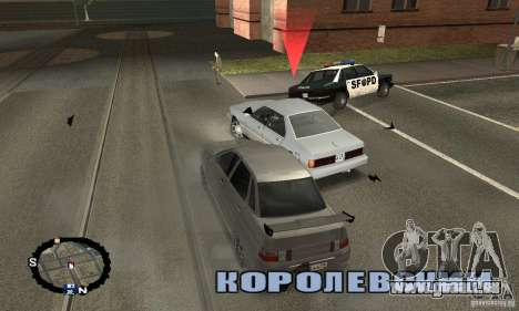 Courses de rue pour GTA San Andreas troisième écran