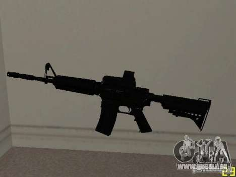 M4 MOD v2 für GTA San Andreas