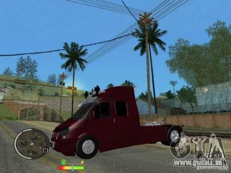 Gazelle 2705 für GTA San Andreas linke Ansicht