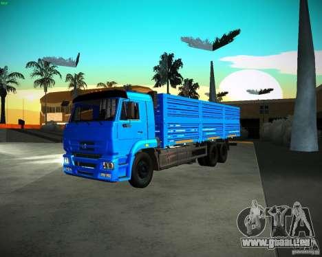 KAMAZ 65117 Grain pour GTA San Andreas