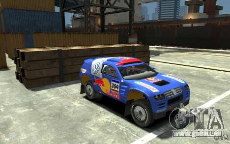 Volkswagen Touareg Rally für GTA 4 Rückansicht