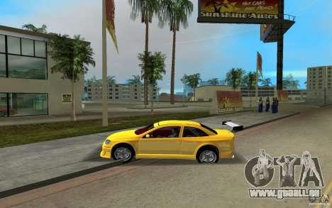 Opel Astra Coupe pour GTA Vice City sur la vue arrière gauche