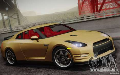 Nissan GTR Egoist pour GTA San Andreas vue de côté