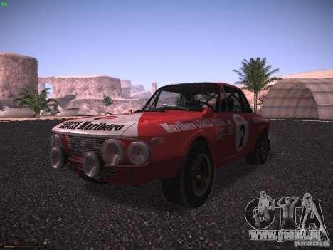 Lancia Fulvia Rally Marlboro für GTA San Andreas