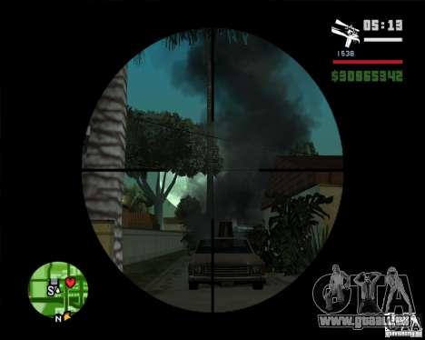 Lune pour GTA San Andreas troisième écran